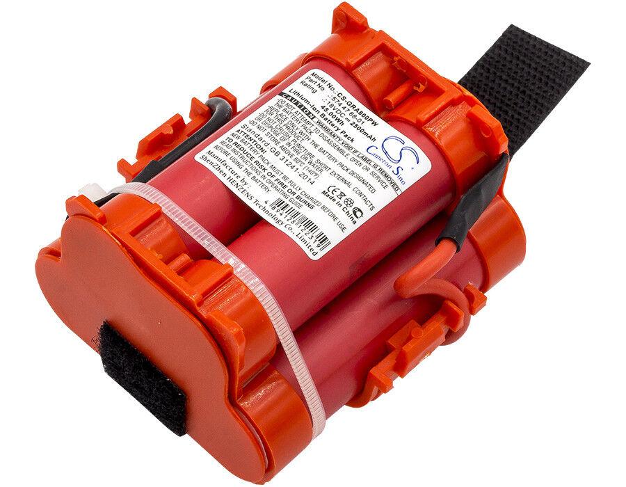 18 V Batería Para Celular PREMIUM Gardena R50Li 2500 mAh Li-Ion nuevo Reino Unido