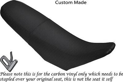 CARBON FIBRE VINYL CUSTOM FITS CCM R30 650 DUAL SEAT COVER