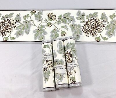 Carefree Wallpaper Border Blue Trim Beige Gold Star Country Patriotic 2 Roll lot