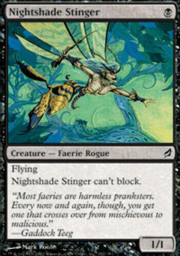 Lorwyn Lorwyn NM-Mint English Nightshade Stinger x4