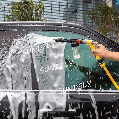 Foamaster II Style Foam Car Wash Spray Gun Lance Uses Hose Pipe Red UK