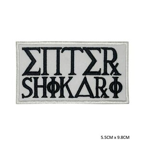 Enter-Shikari-Music-Band-Sew-on-Iron-on-Embroidered-Patch-Badge-For-Clothes-etc