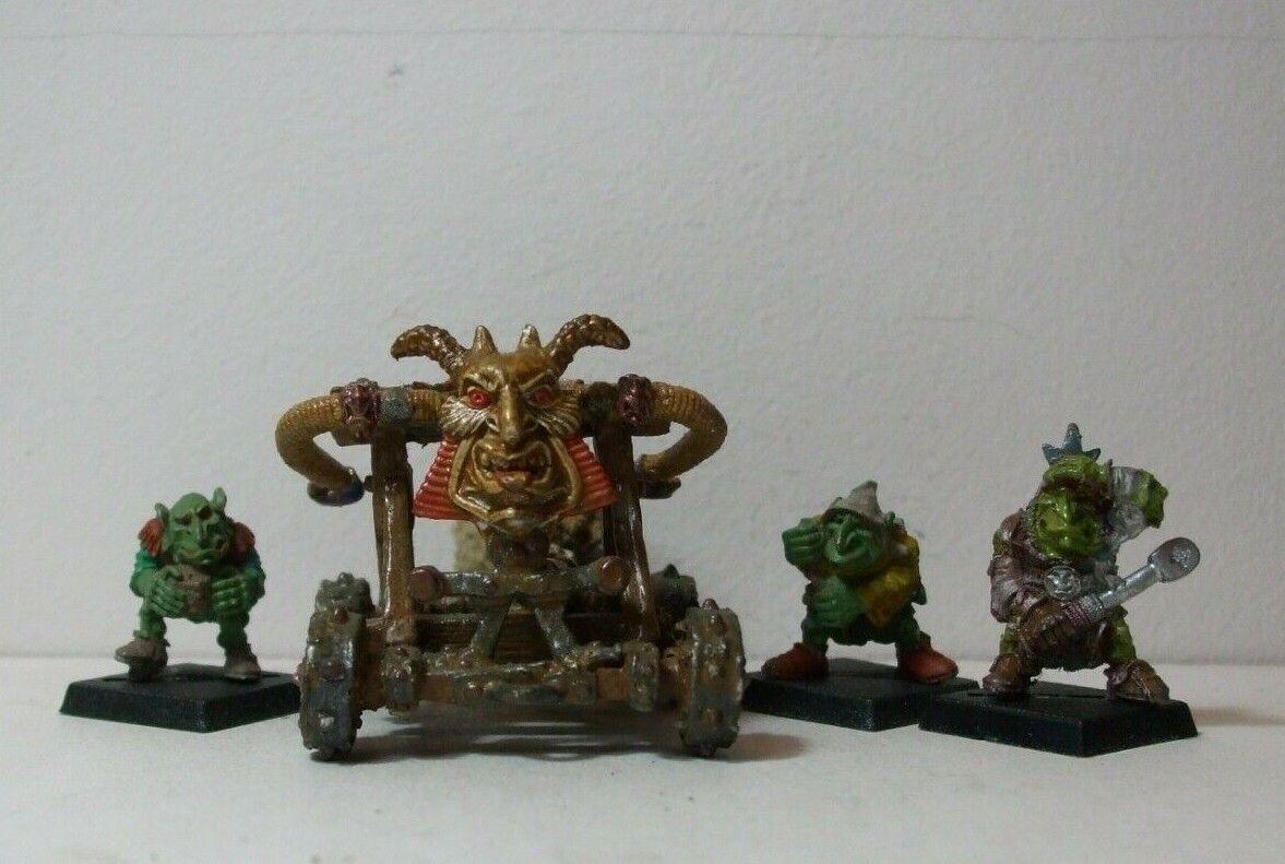 Citadel   Iron Claw metal slotta Goblin Stone Thrower 1988 OOP