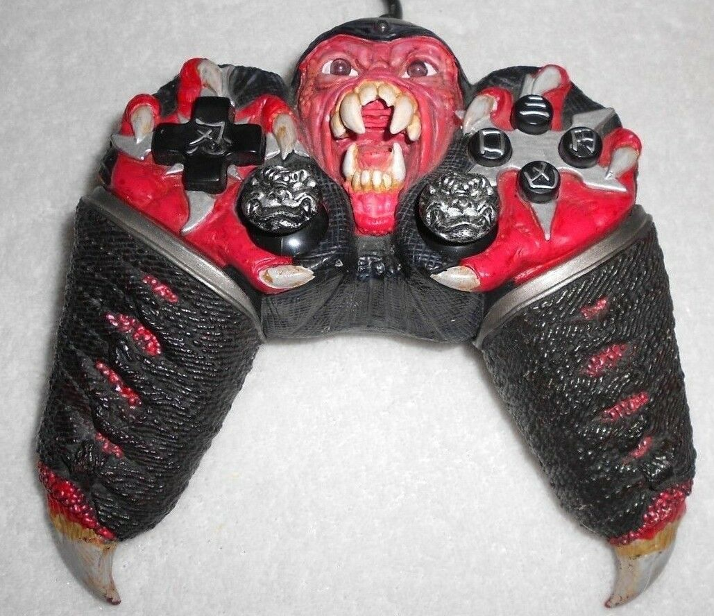 Game Elements Ninja Face Off Freak Series II Collector's Edition PS2 Controller