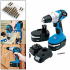Draper 20496 18v Cordless Rotary Drill With Two Batteries