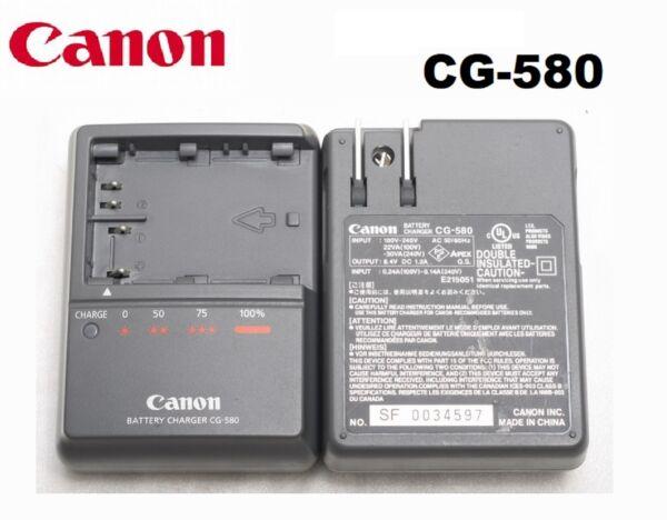 New Orginal OEM Battery Charger CG-580 Canon 5D 50D 40D 30D 20D 10D 300D BP-522