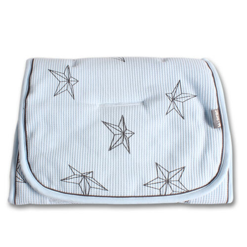 Minene Pique COTTON Star Reversible Pushchair Liner 100/% super soft cotton