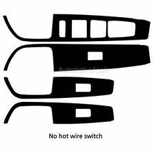 Window Switch Real Carbon Decal Sticker For Hyundai Sonata LF