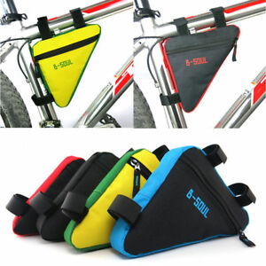 Bicycle Frame Front Tube Triangle Bag Cycling Bike Saddle Pouch Storage Panniers