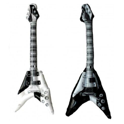 "20 Stück Aufblasbare Luftgitarren /""E-Gitarre/"" 100 cm Luftgitarre Air Luft Guitar"