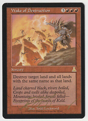 4RCards 1 Urza/'s Destiny MTG Ex//NM Repercussion  X RG