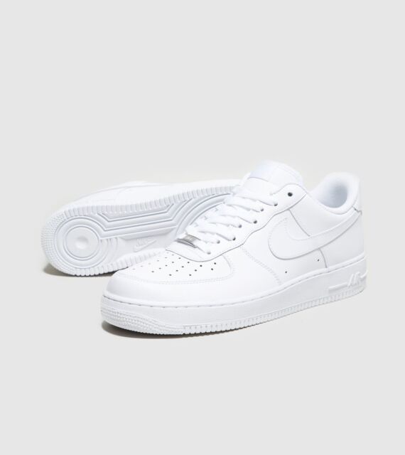 Nike Air Force One 1 Low Top White 315122-111 Men & GS 314192-117 Size  3.5y-15