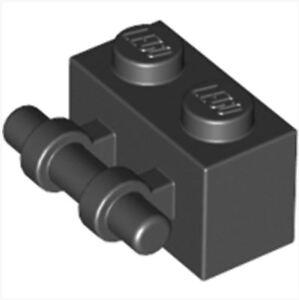 4288212 Brick 30236 10x LEGO NEW 1x2 Black Brick with Handle