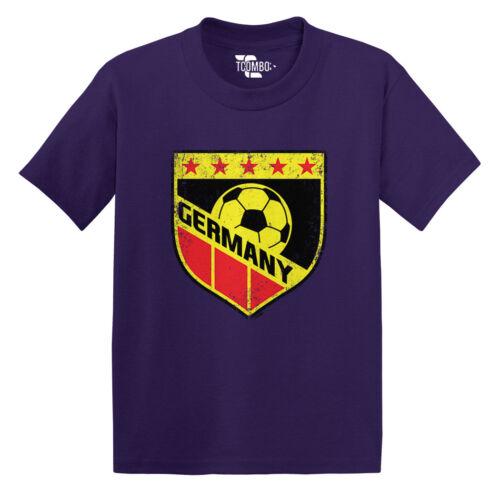 Germany Soccer Football Futbal Club Team Sports Ball Toddler//Infant T-shirt