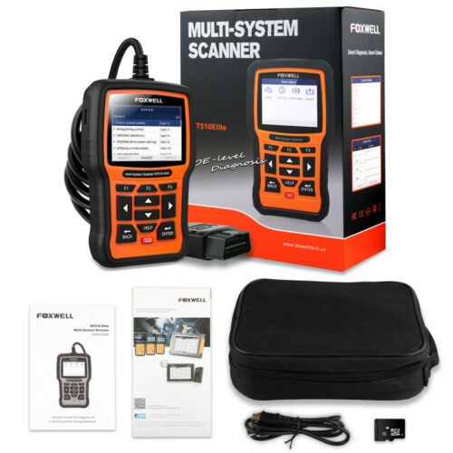 Foxwell NT510 Full Systems Scanner For Honda Acura OBD2 ABS SRS Diagnostic Tool