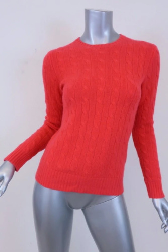 Polo Ralph Lauren Cable Knit Cashmere Pullover Swe