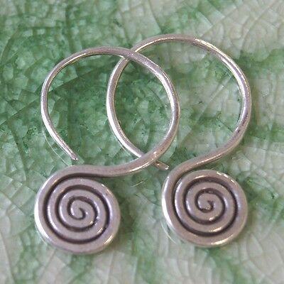 Cool Earrings Thai Karen Hill tribe Silver
