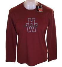 Bnwt Authentic Mens Wrangler Hero Long Sleeve T Shirt Medium Maroon