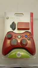 NEW Xbox 360 Wireless Controller (Limited Edition Red) With Play & Charge Kit