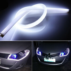 Image Is Loading 2Pc 30cm Flexible Tube Lamp Style Car LED