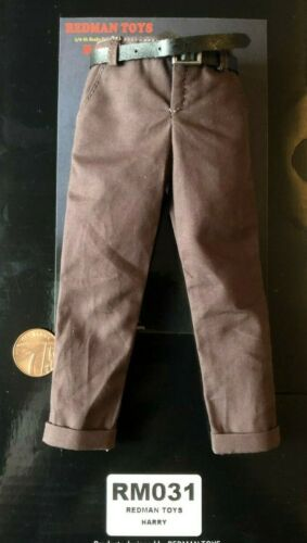 REDMAN TOYS Dirty Harry Brown Suit Ver Brown Pants /& Belt loose 1//6th scale