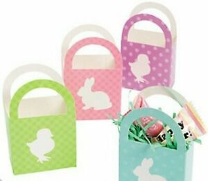 Pack-of-12-Mini-Easter-Cardboard-Baskets-Party-Bag-Books-Fillers