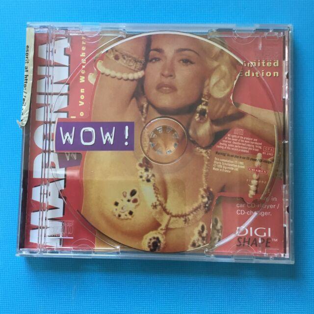 MADONNA - WOW - Rare Original 1996 Picture Disc CD **Like New**