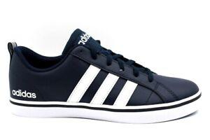 Chaussures-Hommes-adidas-VS-PACE-B74493-Baskets-Casual-Sportif-Baskets-Cuir-Bleu