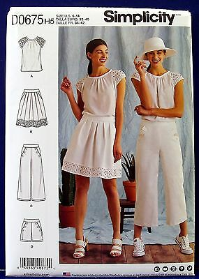 Simplicity Ladies Easy Sewing Pattern 8212 Jersey Knit Leggings Simplicity-8...
