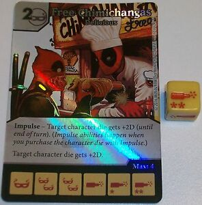 Foil FREE CHIMICHANGAS: DELICIOUS 17 Dice Masters