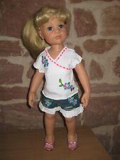 ohne Puppe 46-50 cm Steh-Puppe, Puppenkleidung Kleider Set 2-tlg 148