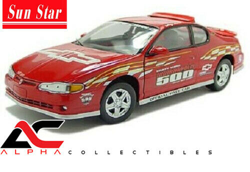 SUNSTAR SS-1420 1 18 2000 CHEVROLET MONTE CARLO SS 1999 INDY 500 PACE CAR