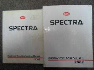 2002-Kia-Spectra-Manual-De-Servicio-Taller-De-Reparacion-Juego-de-fabrica-como-solucionar-Libros-OEM