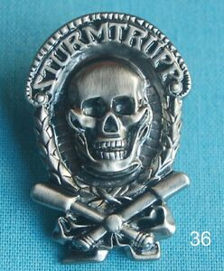 Fanartikel & Merchandise Gut Sturmtrupp Militär Military Armee Pin Button Badge Anstecker Sticker # 36 Ein Unverzichtbares SouveräNes Heilmittel FüR Zuhause