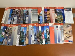 Lot-Of-44-Northwest-Airlines-Timetables-Flight-Schedules-1990-2000