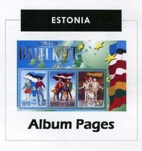 Estonia-CD-Rom-Stamp-Album-1918-2016-Color-Illustrated-Album-Pages
