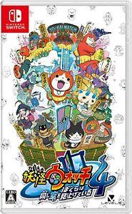 NEW-Nintendo-Switch-Yokai-Watch-4-We-039-re-Looking-Up-the-Same-Sky-JAPAN-IMPORT