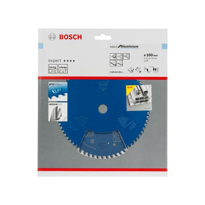 Bosch HM-Sägeblatt 160x2,2x20 Z52 2608644094 Expert for Aluminium