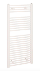 Reina Diva plana Toallero-blanco. H1200 X W600mm