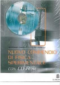 NUOVO-COMPRENDIO-DI-FISICA-SPERIMENTALE-CON-CD-C-E-LE-MONN-9788800497558-NUOVO