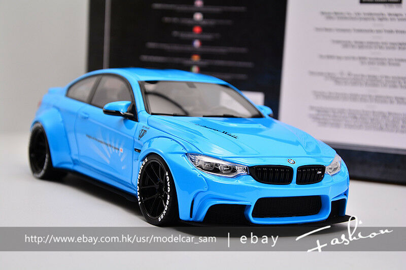 GT Spirit 1 18 BMW M4 lb funciona blu