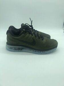 online retailer 5ee17 1e01c Details about NIKE AIR MAX 2017 MEN'S RUNNING SHOE 849559 302 OLIVE GREEN  CARGO KHAKI Sz 12