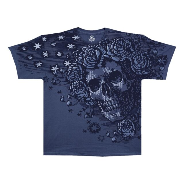 GRATEFUL DEAD-MIDNIGHT BERTHA-ROSES-2 SIDED TSHIRT SIZE IS M Saying on back cool