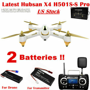 Hubsan H501S S Pro Brushless Drone 5.8G FPV Quadcopter 1080P...
