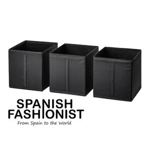 IKEA-SKUBB-Box-storage-black-31x34x33-cm-x-3-piece