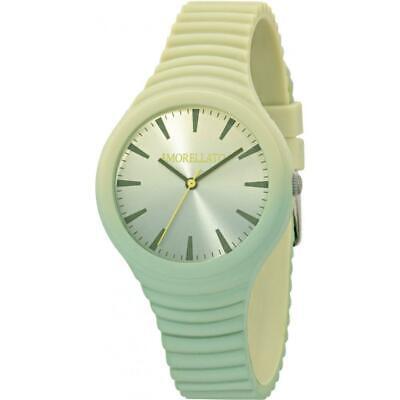 Orologio Donna MORELLATO COLOURS R0151114592 Silicone Verde NEW