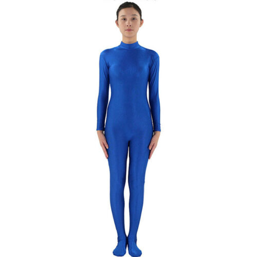 Tight Lycra Spandex 2nd Skin Catsuit Halloween Zentai Costumes Kids Funny Suit