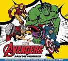 Marvel: The Avengers Paint-By-Number: Re-Create Five Classic Scenes from the Marvel Universe by Daniel Wallace (Hardback, 2015)