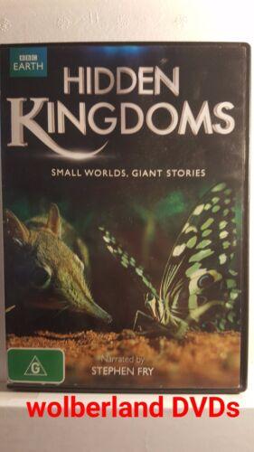 1 of 1 - Hidden Kingdoms [ DVD } Region 4, FREE Next Day Post