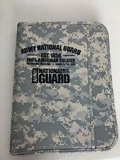 Us Army National Guard Binder Folder Portfolio Digital Camo Notepad